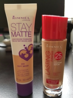 Rimmel foundations