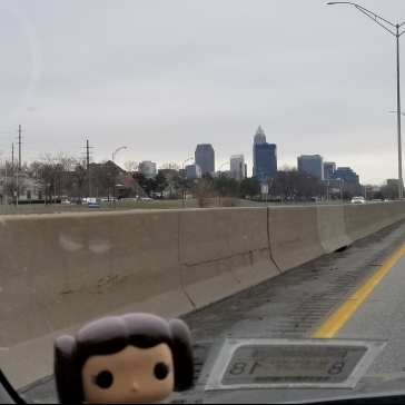Why yes, I do have a Princess Leia bobble-head on my dashboard. She's my driving buddy.