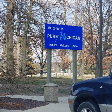 As opposed to contaminated Michigan? Or fake Michigan?