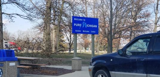 As opposed to contaminated Michigan? Or fake Michigan?