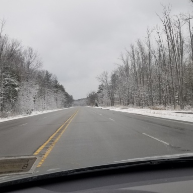 On US-23 headed into Narnia.