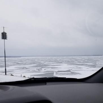 Lake Huron! It's great!