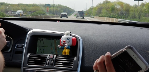 Doesn't everyone have a Pennywise Funko Pop in their car?