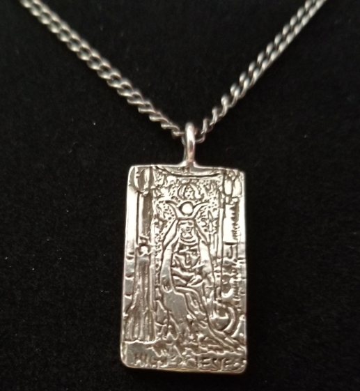 The High Priestess Necklace. I'm so in love.