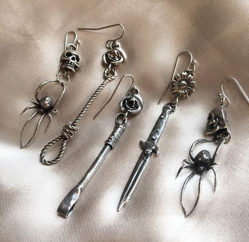 Cherry Bomb Roulette Earrings