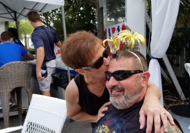 They still like each other after almost 30 years.