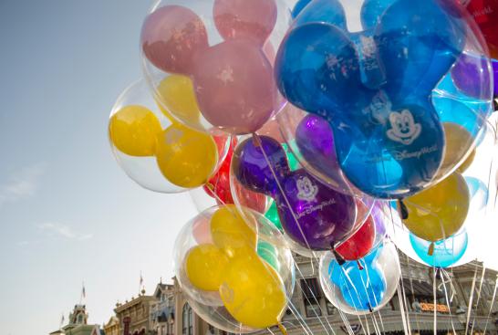 Shiny new balloons.