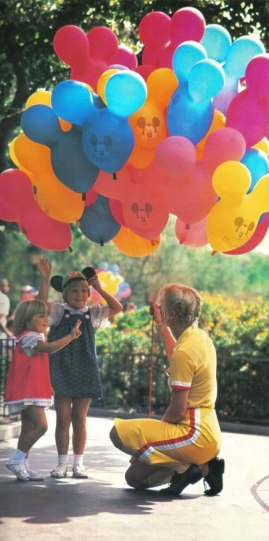 Old school balloons from the 80s.